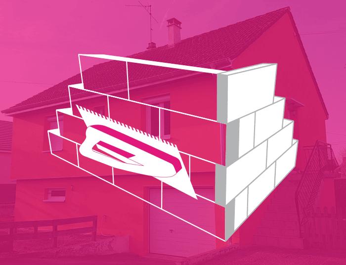 isolation thermique par l'extérieur ITE façades maison